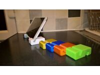 introducing phone jack a fully portable phone and tablet stand great for home or away