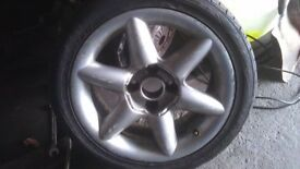 Ford or Peugeot Wheel & Tyre