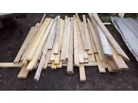 Joist, decking board, planks, timber job lot