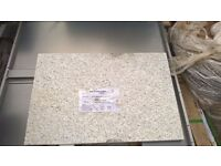 Granite Paving Slab - Marshalls - Galatea White and Grey Fine picked paving - w500xd30xl750mm