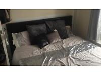 King size leather with matress