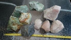 Over 20 kilos of aquarium rock