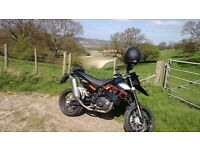 Low Mileage 2007 KTM 690 Supermoto here for sale!