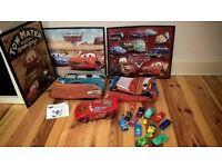 Disney / Pixar Cars bundle, Siddeley plane, Moving McQueen, pictures, blanket, duvet set and more!