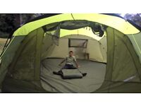 5 man tent with internal bedroom compartments 5000 hydrostatic head