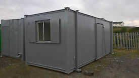 PORTABLE CABIN - 20ft STEEL OFFICE - SHIPPING CONTAINER - GARAGE