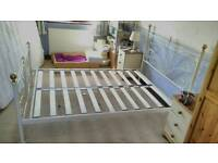 Double size bed frame **no mattress **