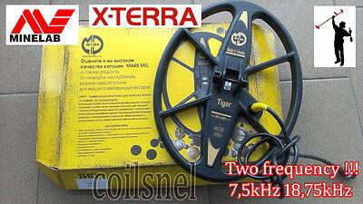"Search Coil MARS TIGER 10""x13"" for Minelab X-Terra  metal detector 7kHz 18kHz"