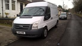 FORD TRANSIT MWB 1 year MOT good condition