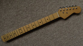 Vintage strat stratocaster maple loaded neck MIJ Japan tuners