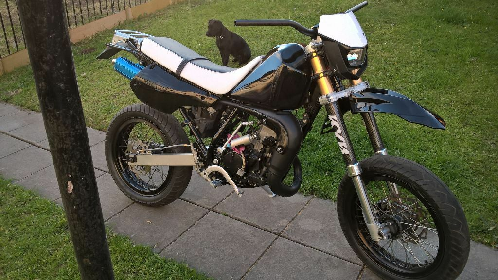 kawasaki kmx 125 super moto in drumchapel glasgow gumtree. Black Bedroom Furniture Sets. Home Design Ideas