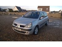 2005 RENAULT CLIO 1.2 PETROL MANUAL NEW MOT 3 MONTHS WARRANTY