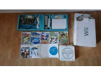 Nintendo Wii with all accessories and 7 games