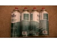 Royal - Butane Gas Cartridges 4 x 220g