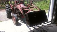 Massey Ferguson TO35 tractor with loader