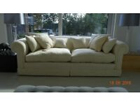 Duresta Maximus Grand Sofas x 2 - Ivory colour covers - Good clean condition - Price per sofa