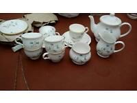 Sadler Wellington fine bone China 21 piece tea set