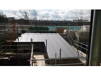 FLAT ROOFERS,ROOFER ROOF ROOFING SINGLE PLY PVC FIBREGLASS GRP EPDM MINERAL FELT