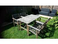 Ikea outside table and 4 chairs