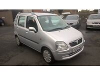LOW MILES VAUXHALL AGILA 1.2 CHEAP TO RUN PX WELCOME £595