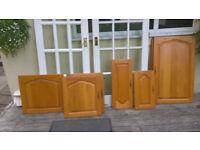 Solid Wood Kitchen Cupboard Doors Various Sizes