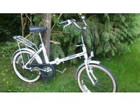 vintage folding bike,3 speed,sovreign hi lo,very tidy ,runs well,very compact