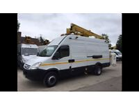 Cherry Picker Available for hire. MEWP service, domestic and commercial. IPCCTV installs.