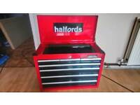 Halfords top box plus some tools