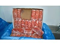 Dog Food Frozen Chicken Mince 32x 500g bags 16kg box. BARF RAW DIET deliverd via 24 hr courier