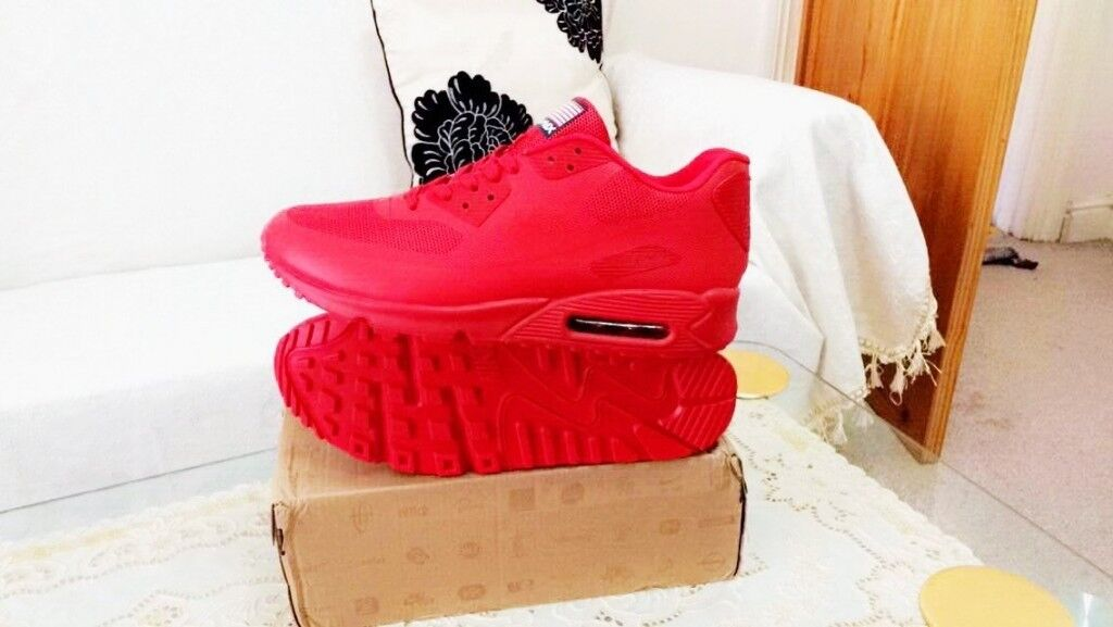 nike air max 90 hyperfuse red independance day all sizes inc delivery paypal xx yeezy | in Ladywood, West Midlands | Gumtree