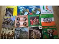 12 IRISH LPS WOLF TONES SEAN CLANCY ETC