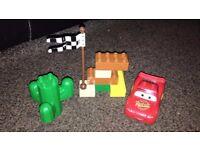 Disney Cars duplo sets