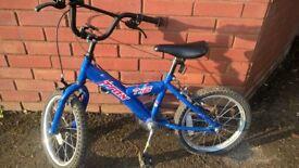 Boy bike 14 inches