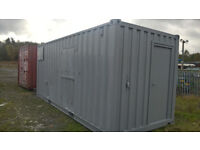 SHIPPING CONTAINER-PORTABLE CABIN-LINED/INSULATED-CAR WASH 50/50 UNIT