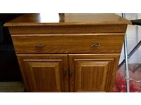Walnut sideboard / cabinet