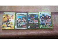 Xbox 360 PES games.