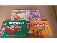 4 x children's board games