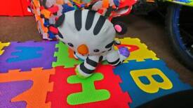 Fisher price touch and crawl zebra