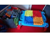 Megabloks table and sets