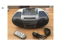 Panasonic RX-D29 Stereo Radio/CD/MP3/Cassette player (incl Remote Control)