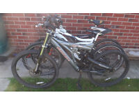 JOB-LOT OF 3 ADULT 21 SPEED MOUNTAIN BIKES SPARES - REPAIR £35.00 SEE PICS