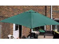 Large patio parasol