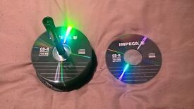 30 IMPEGA CD-R 700MB Blank CD disks x30