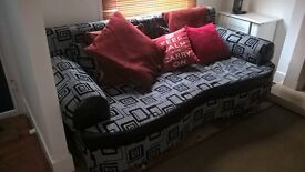 flash sale sofa bed,available to collect in Bromley today,please call if interested,bargain!