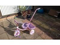Girls Precious Mauve 3 Wheeler Trike