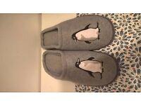 brand new Penguin slippers size 8