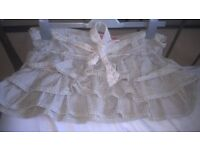 H&M layered circus skirt. exellent condition! size 10