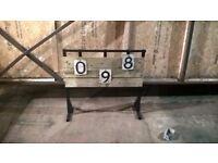 Custom Backyard Target Shooting Stand and Metal Targets