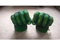 "11"" Plush Hulk Smash Boxing Gloves"