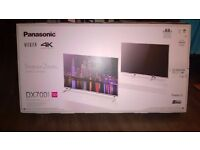 panasonic viera TX 50dx700b 4k UHD tv 4 months old with receipt RRP £799